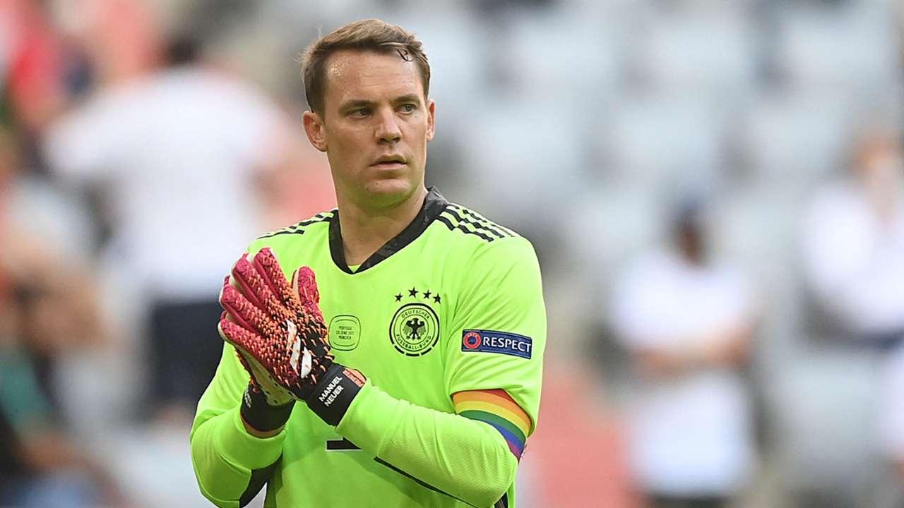 Manuel Neuer Portugal vs Germany Euro 2020