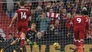 Salah missed penalty