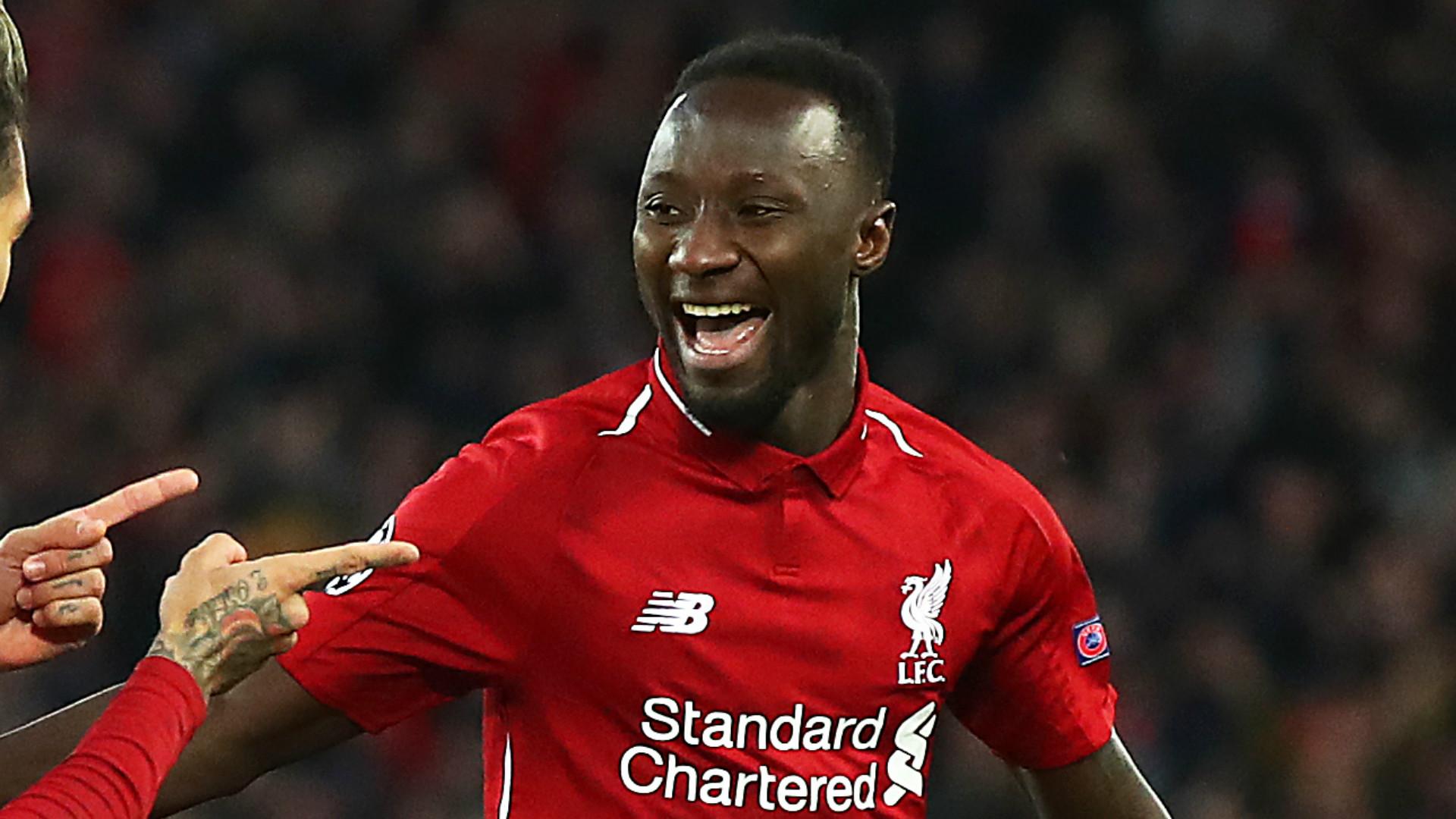 Naby Keita Liverpool 2018-19