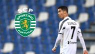 Cristiano Ronaldo Sporting Lissabon Grafik