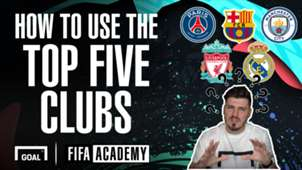 The best five clubs on FIFA 20 - and how to use them