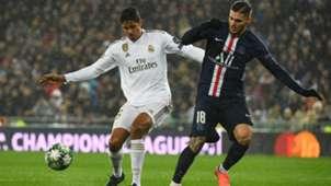 Varane Icardi Real Madrid PSG Champions League