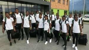 Falconets land in France