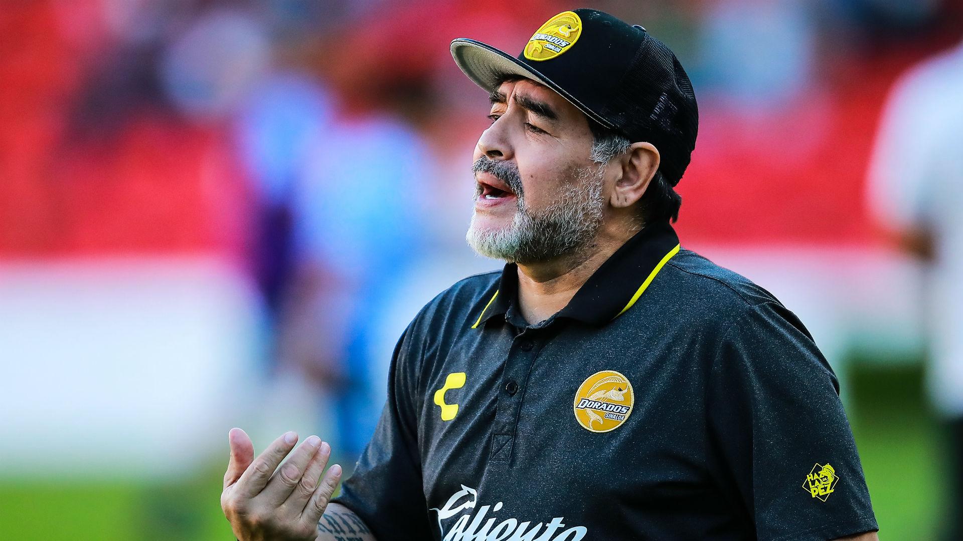 عاجل.. وفاة الأسطورة مارادونا