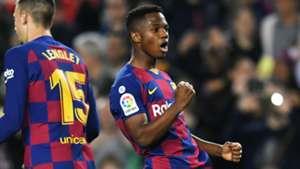 Ansu-perb! Fati shows Setien his worth ahead of Dembele return