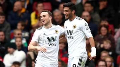 Diogo Jota & Raúl Jiménez - Wolverhampton Wanderers 2019