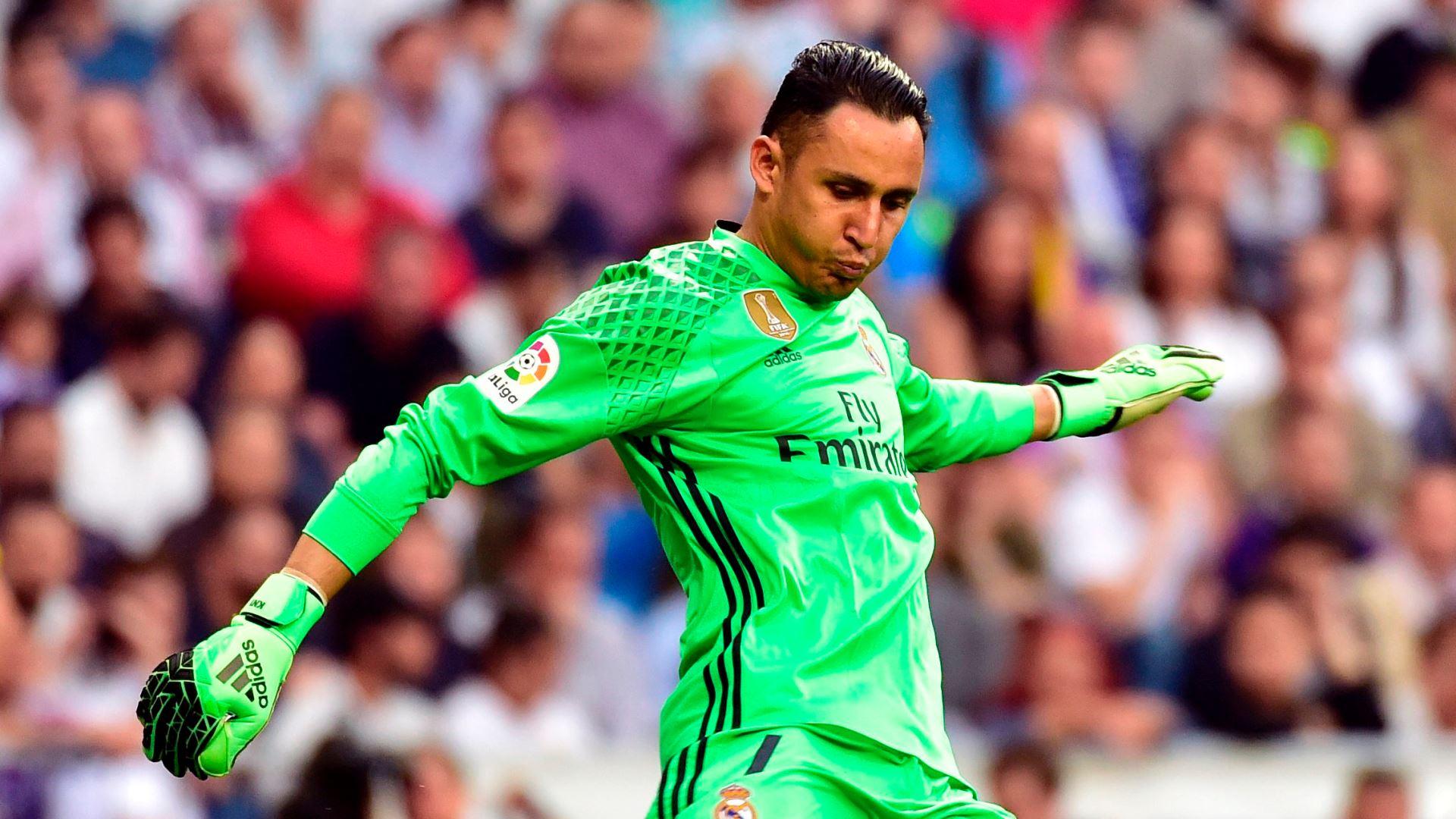Keylor Navas Real Madrid Sevilla LaLiga 14052017