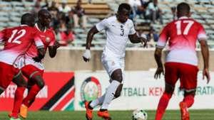 Ghana v Kenya.