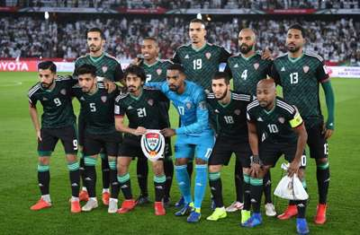 UAE squad in the Asian Cup