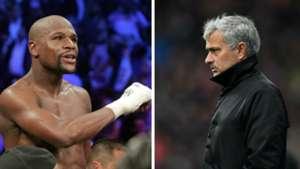 Floyd Mayweather Jose Mourinho