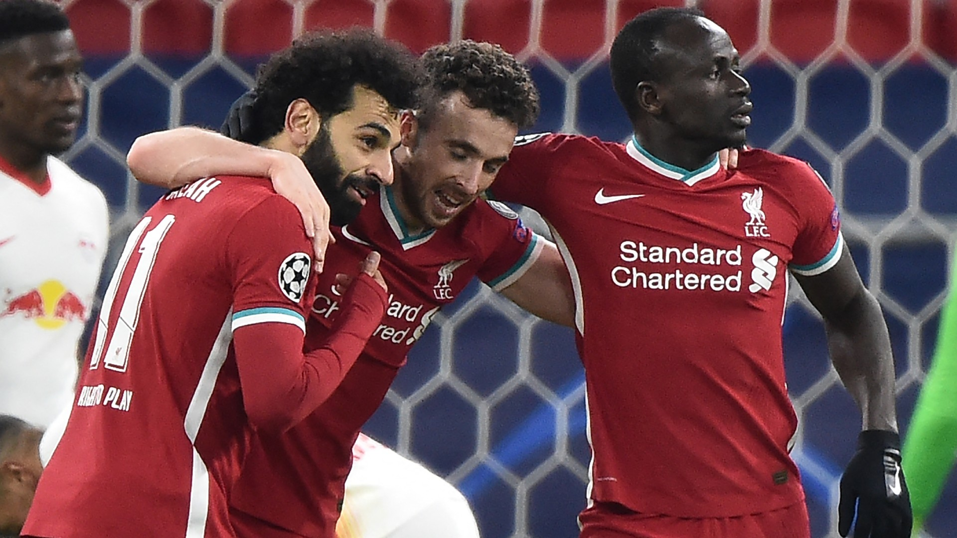 Salah continues scoring form, Mane on target as Liverpool beat RB Leipzig to advance in Champions League