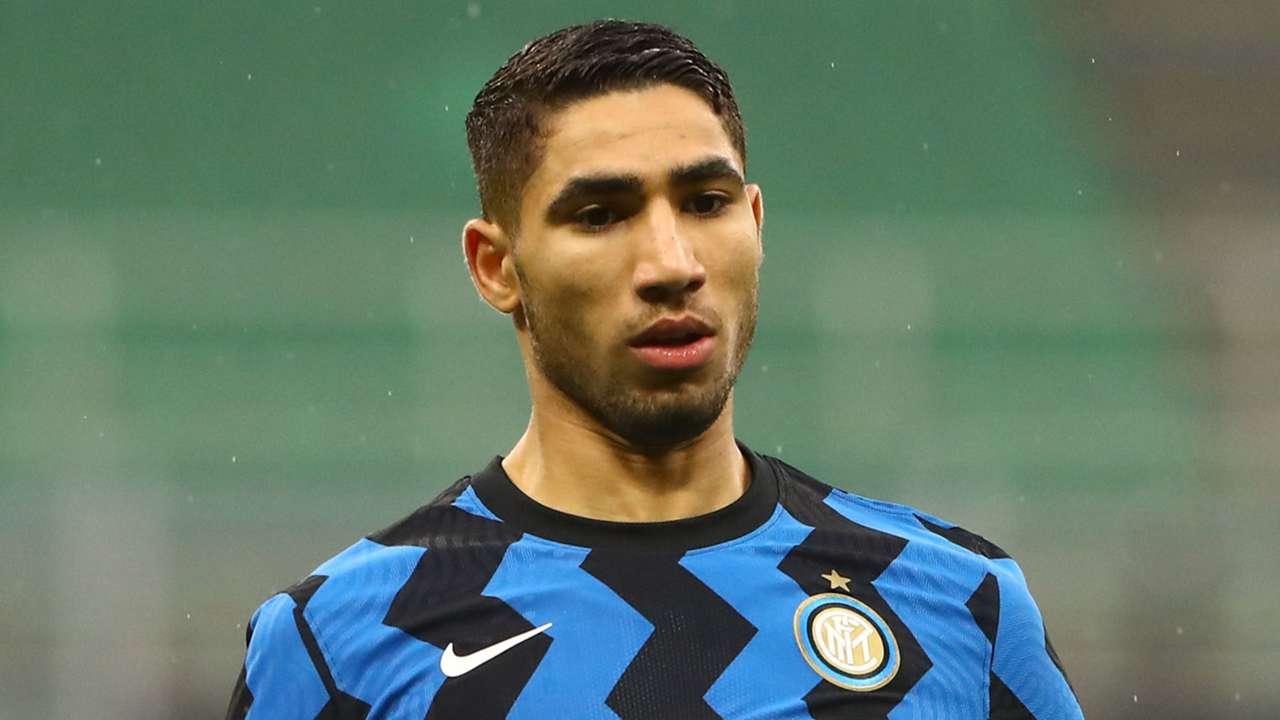 Achraf Hakimi Inter 2020-21