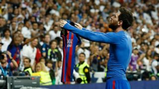 Lionel Messi Barcelona Real Madrid 2016-17