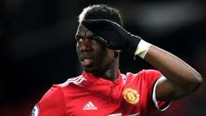 Paul Pogba Manchester United January 2018