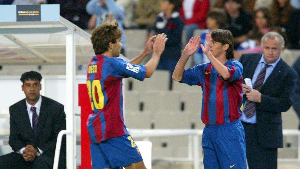 Barca-Debüt von Lionel Messi im Oktober 2004: Die Startelf des FC Barcelona   Goal.com