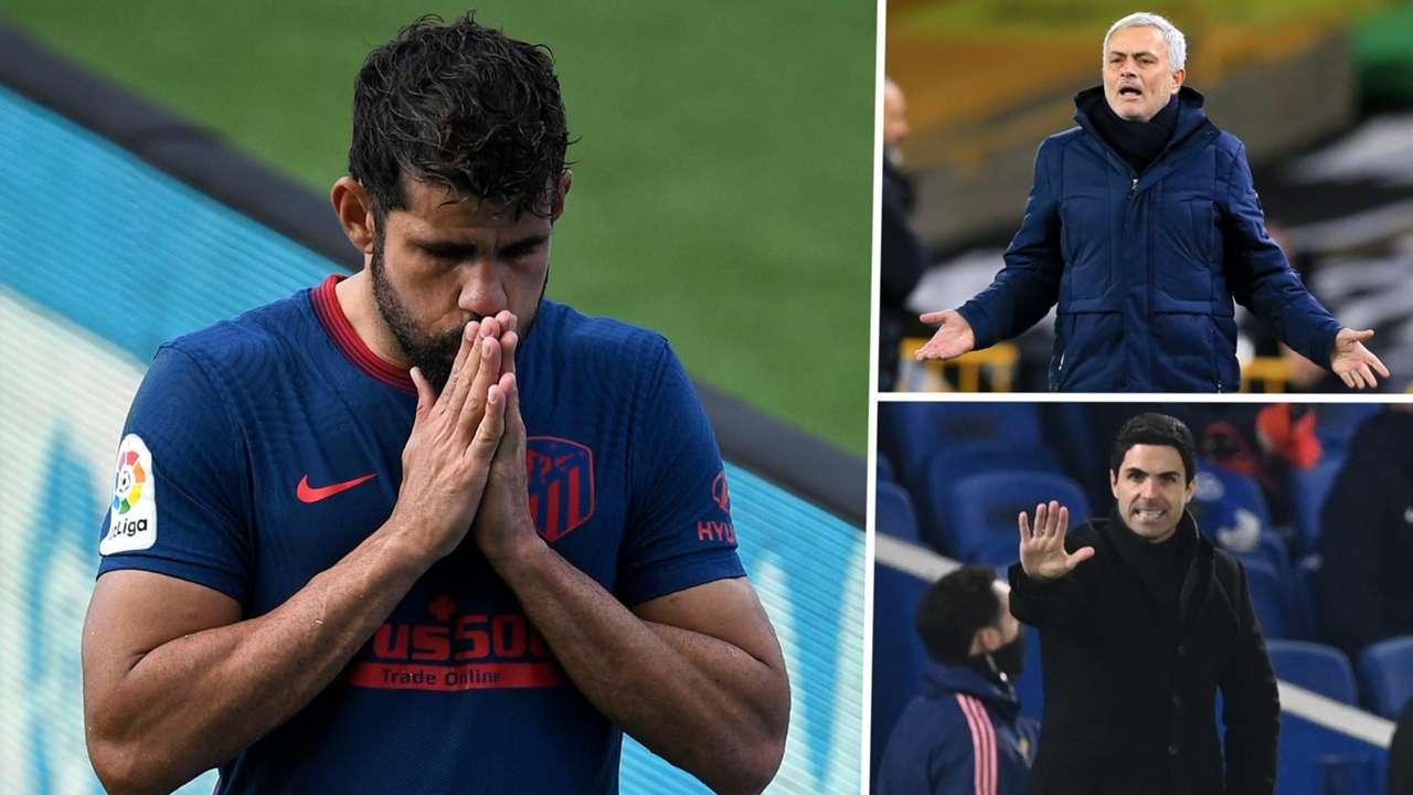 Diego Costa Atletico Madrid GFX