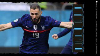 Karim Benzema Ballon d'Or Rankings GFX