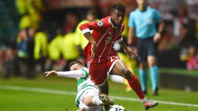Kingsley Coman Celtic Bayern Munchen Champions League 311017