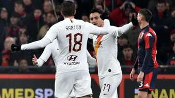 Cengiz Under Genoa Roma Serie A