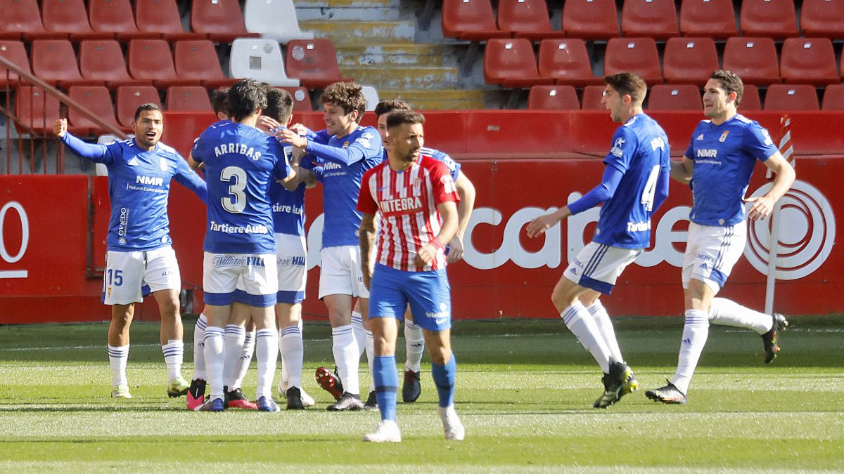 Ninguno de los 6 primeros logra los 3 puntos y todo sigue prácticamente igual. El derbi asturiano se volvió a ir a la capital.