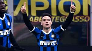 Lautaro Martinez Inter Atalanta Serie A