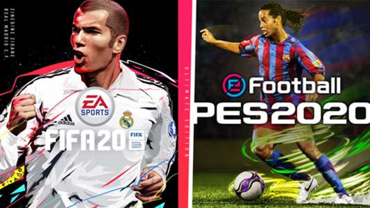 Fifa 20 Icons Vs Pes 2020 Legends Which Past Players Are In The Games Goal Com