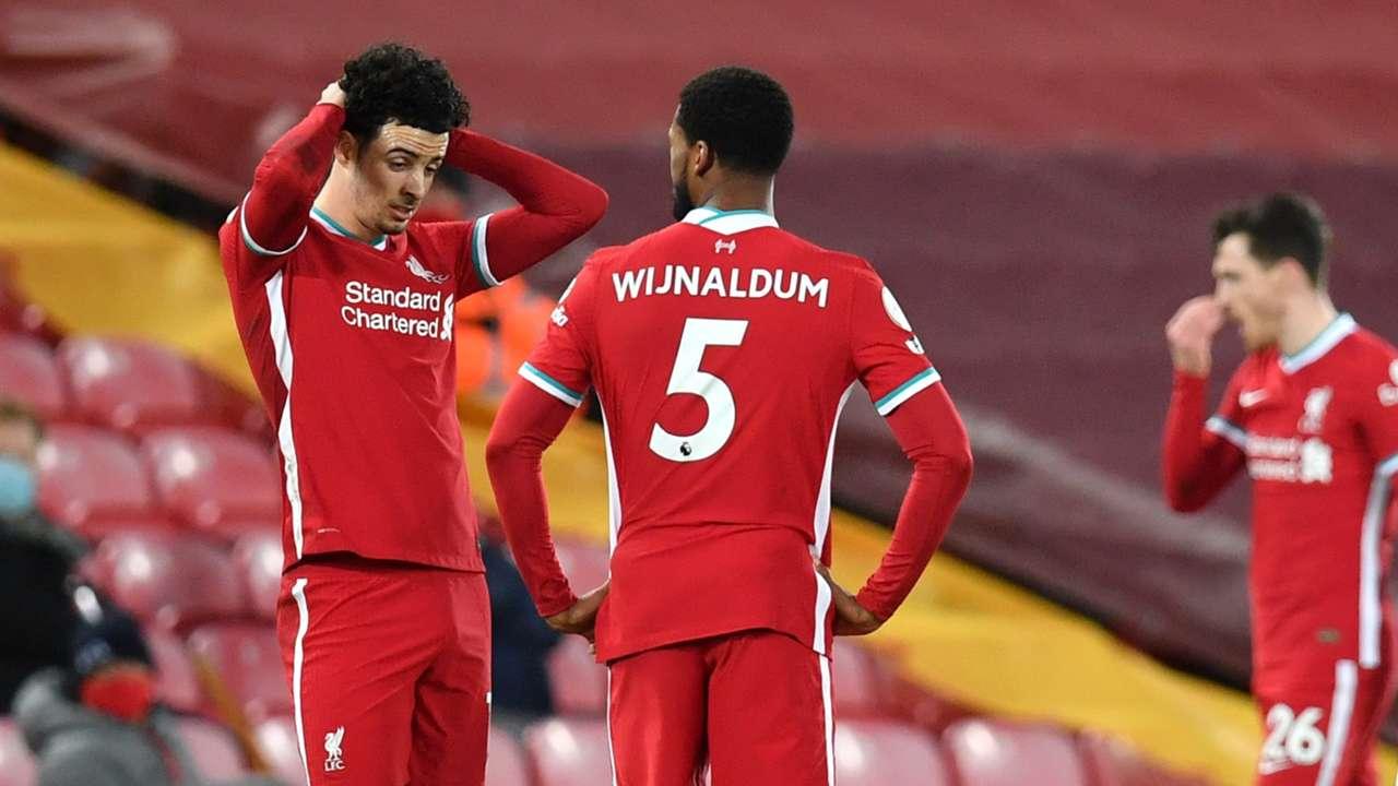Curtis Jones Georginio Wijnaldum Liverpool Everton 2020-21