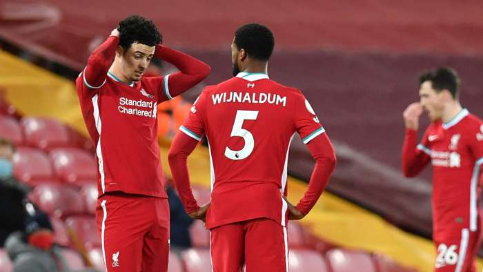 Curtis Jones Georginio Wijnaldum Liverpool Everton 2020-21