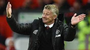 Ole Gunnar Solskjaer Man Utd vs Liverpool 2019-20