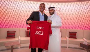 Cafu Hassan Al Thawadi 2022 World Cup Qatar Ambassador
