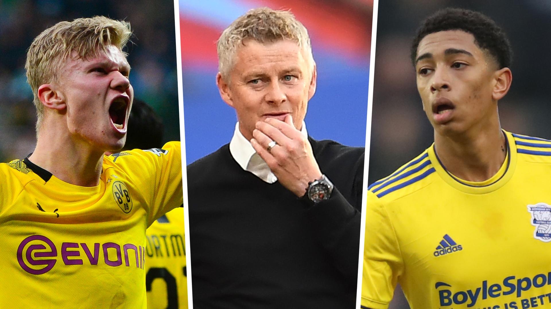 Borussia Dortmund beat Man Utd to signing of Bellingham