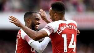 Alexandre Lacazette Pierre-Emerick Aubameyang Arsenal