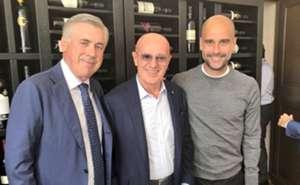 Carlo Ancelotti Arrigo Sacchi Pep Guardiola