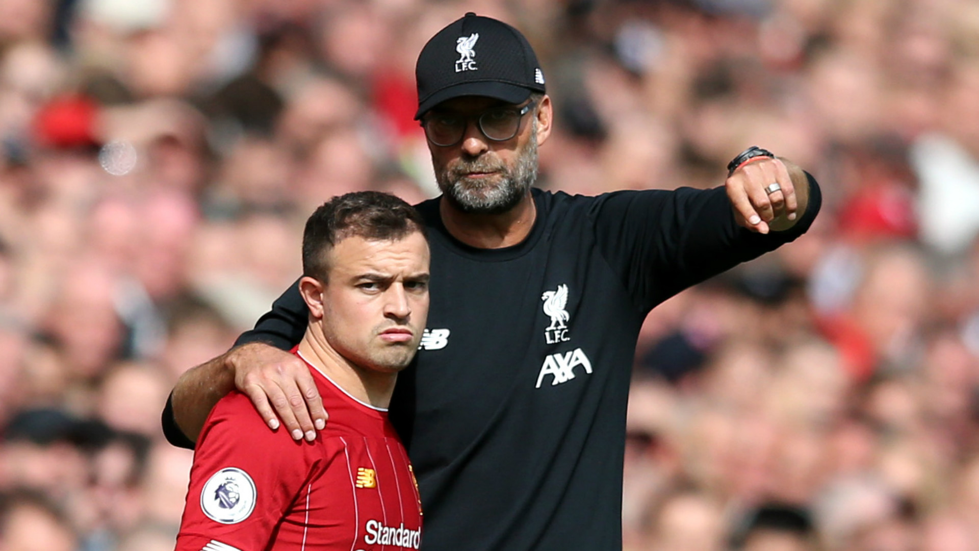 Shaqiri S Gifted But Klopp Can T Trust Him Crouch Explains Liverpool Absence Of Swiss Star Goal Com
