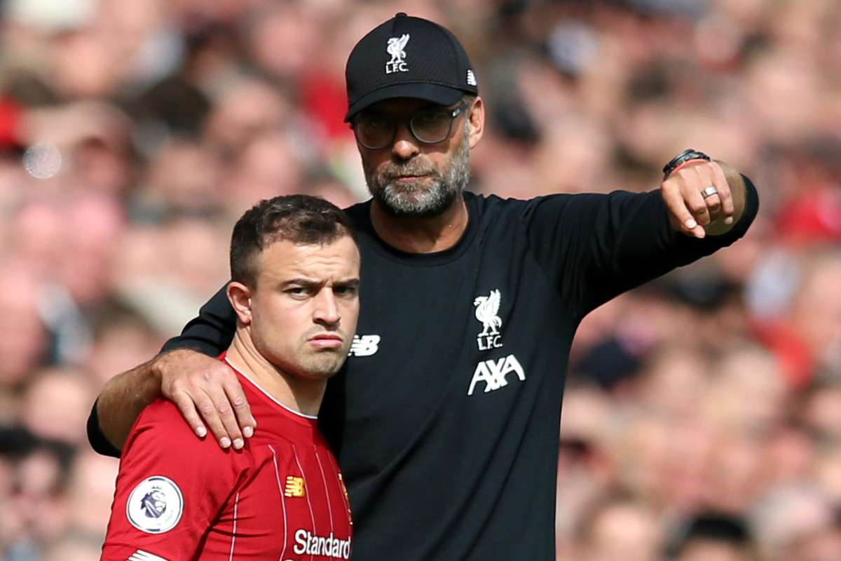 Shaqiri's gifted but Klopp can't trust him' – Crouch explains Liverpool absence of Swiss star | Goal.com