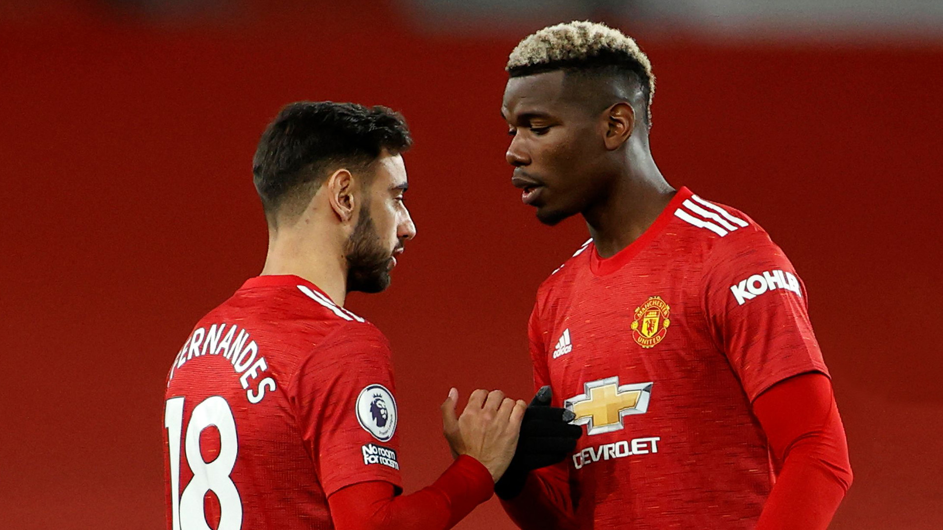 'Fernandes dented Pogba's ego' - Man Utd midfielder has raised his game after 'playing in the shadow' of €55m star, says Parker