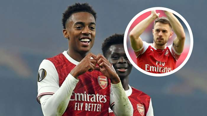 Joe Willock Aaron Ramsey