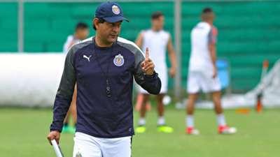 José Cardozo Entrenamiento Chivas
