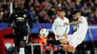 Ever Banega Romelu Lukaku Sevilla Manchester United UCL 21022018