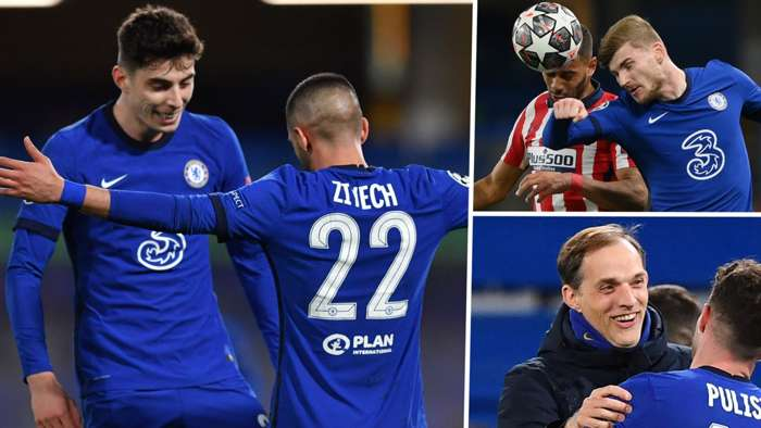 Havertz Ziyech Werner Tuchel Chelsea 2020-21