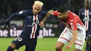 Neymar PSG Monaco 12-01-2020