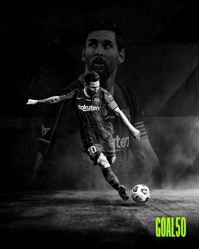 Lionel Messi Goal 50