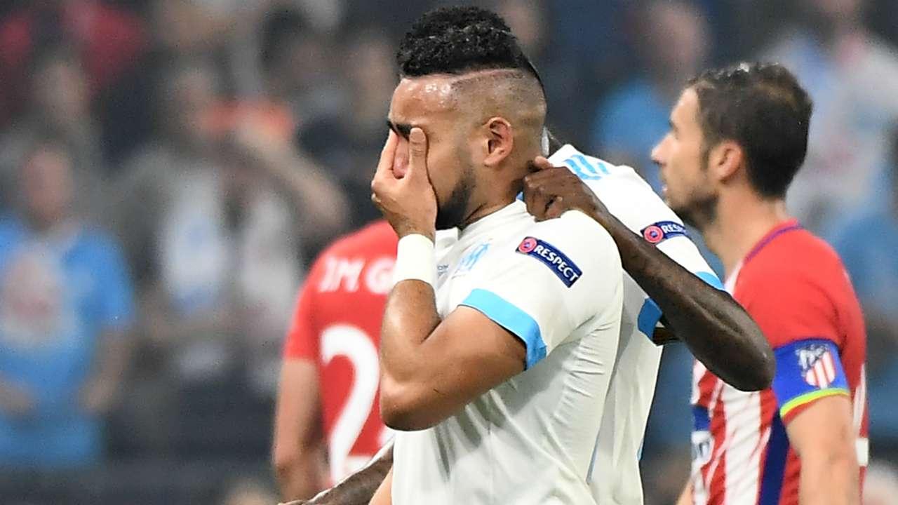 Payet Marseille Atletico Madrid Europa League