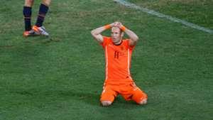 Arjen Robben Spain 2010