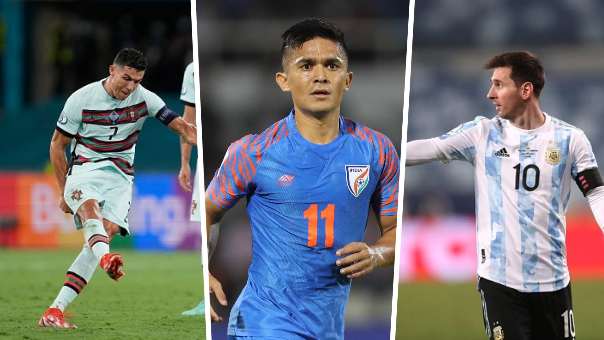 Lionel Messi surpasses Sunil Chhetri's international goals tally! Where does he rank in all-time goalscorers list?