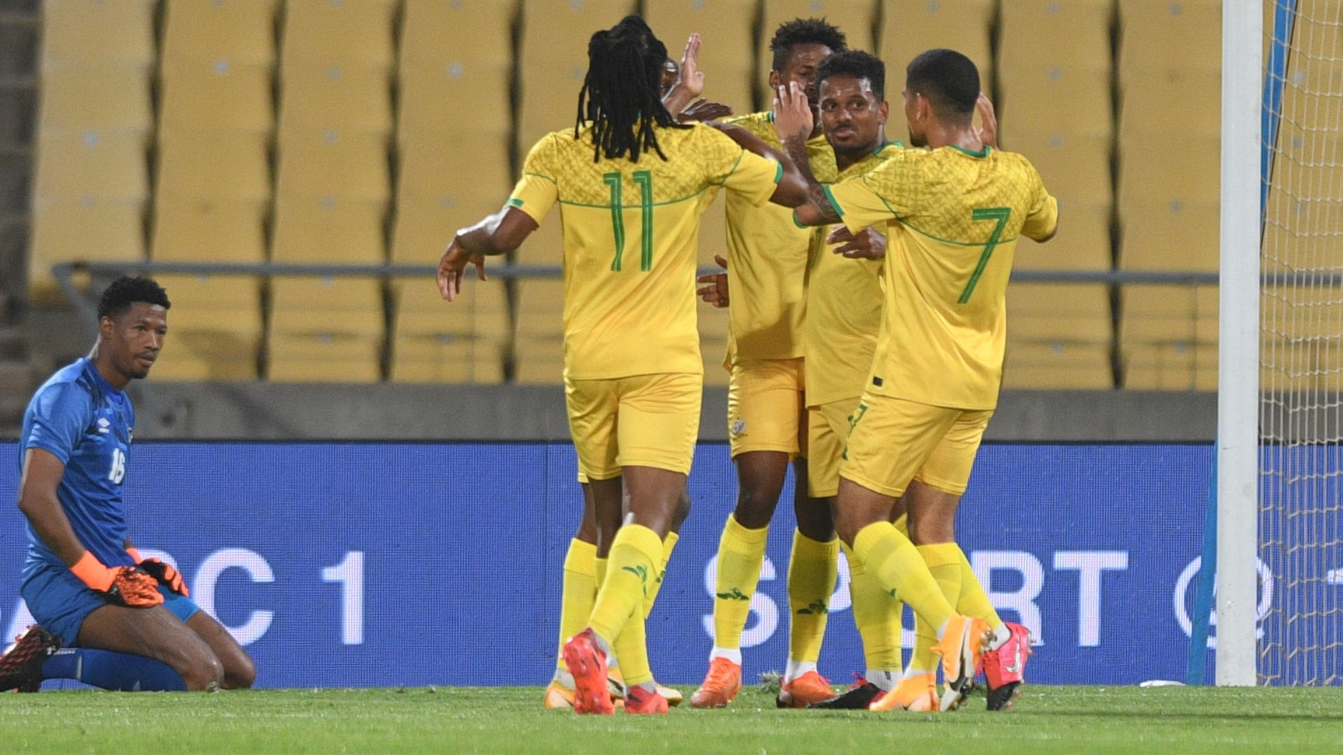 How Bafana Bafana could line-up against Sao Tome and Principe