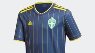 Sweden away kit adidas euro 2020