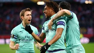 Alex Iwobi Rennes Arsenal UEFA Europa 07032018