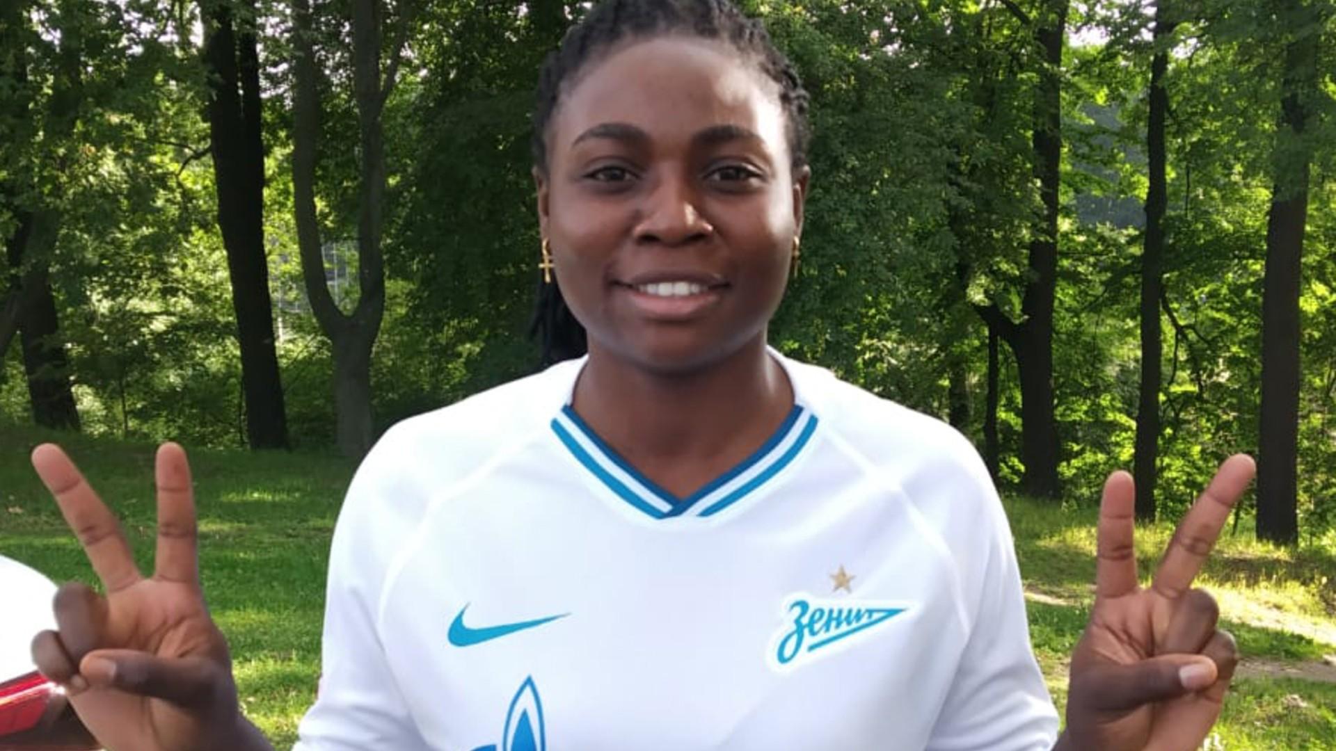 Cameroon's Ekogo makes full debut in Zenit Saint Petersburg's first win