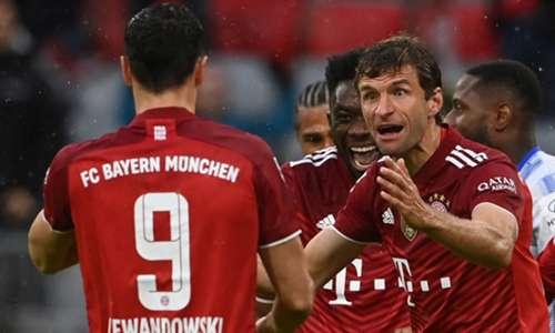 FC Bayern München schießt Hertha BSC ab: Die Bundesliga zum Nachlesen im TICKER   Goal.com